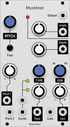 Eurorack Module Make Noise Mysteron (Grayscale panel) from Grayscale