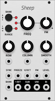 Eurorack Module Mutable Instruments Sheep (Grayscale panel) from Grayscale