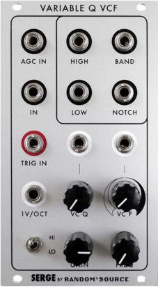 Eurorack Module Variable Q VCF  from Random*Source