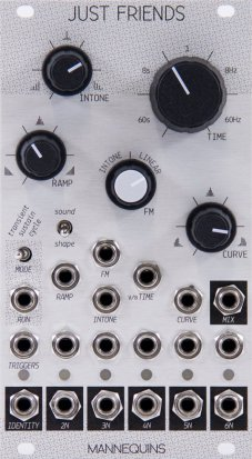 Eurorack Module JUST FRIENDS from Mannequins