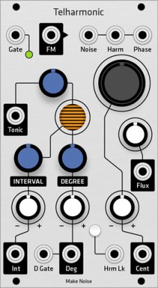 Eurorack Module Make Noise Telharmonic (Grayscale panel) from Grayscale
