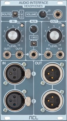 Eurorack Module AUDIO INTERFACE from ACL