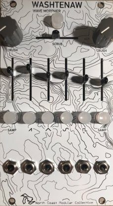 Eurorack Module Washtenaw Wave Morpher MIDI Controller by North Coast Modular Collective from Other/unknown