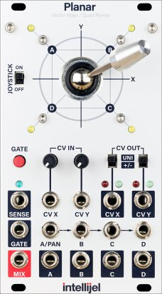 Eurorack Module Planar from Intellijel