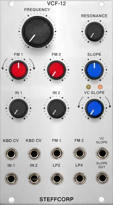 Eurorack Module VCF-12 from Steffcorp