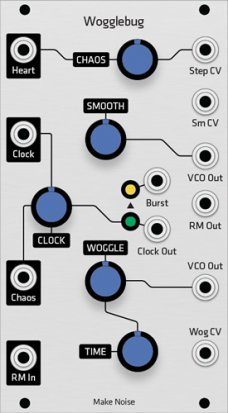 Eurorack Module Make Noise Wogglebug (Grayscale panel) from Grayscale
