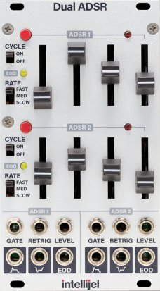 Eurorack Module Dual ADSR from Intellijel
