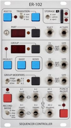 Eurorack Module ER-102 from Orthogonal Devices