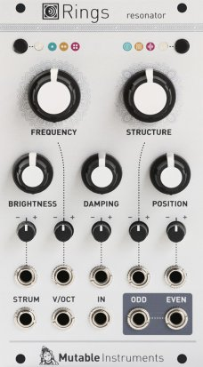 Eurorack Module Rings from Mutable instruments