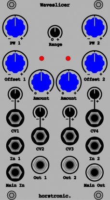 Eurorack Module Waveslicer from horstronic