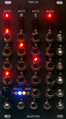 Eurorack Module Black Face BMC45 from Million Machine March