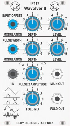 Eurorack Module IF117 - Wavolver II from Elby Designs