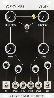 Eurorack Module VCF-74 MK2 from Vintage Synth Lab