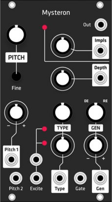 Eurorack Module Mysteron (Grayscale black panel) from Grayscale