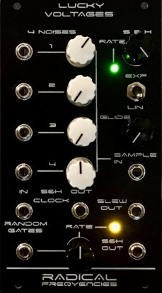 Eurorack Module Lucky Voltages from Radical Frequencies