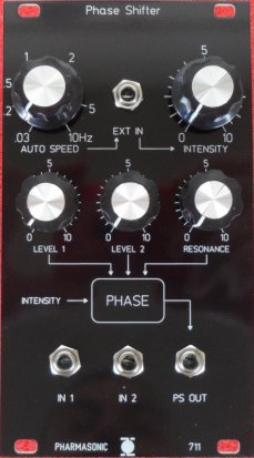 Eurorack Module SYS-700 Phase Shifter 711 from Pharmasonic