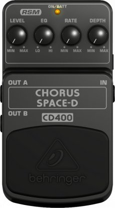 Pedals Module CD400 from Behringer