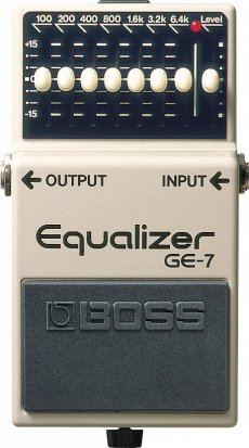 Pedals Module GE-7 Equalizer from Boss