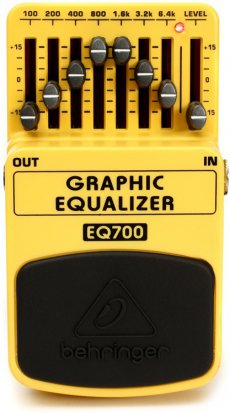 Pedals Module Graphic Equalizer EQ700 from Behringer