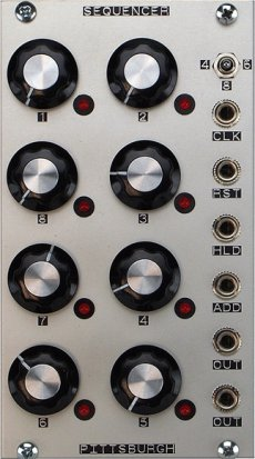 Eurorack Module Sequencer from Pittsburgh Modular