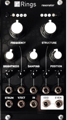 Eurorack Module Rings Magpie Black Mirror from Other/unknown
