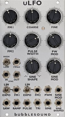 Eurorack Module uLFO from Bubblesound Instruments