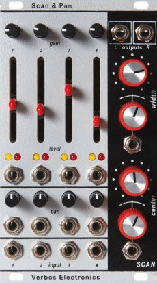 Eurorack Module Scan & Pan from Verbos Electronics