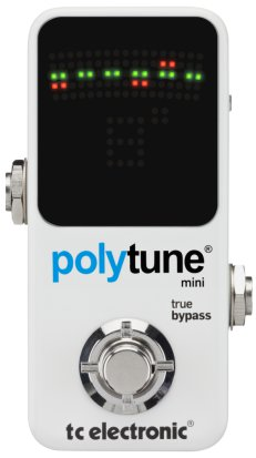 Pedals Module Polytune Mini from TC Electronic