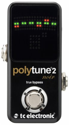 Pedals Module PolyTune 2 Noir from TC Electronic