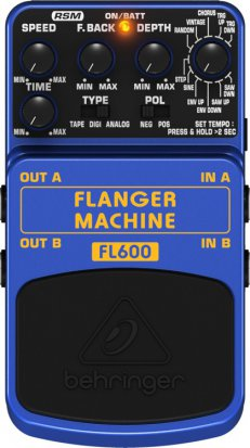 Pedals Module FL600 Flanger Machine from Behringer