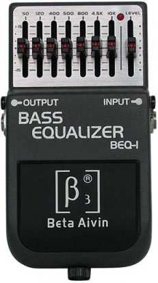 Pedals Module Beta Aivin BEQ1 Equalizer Pedal from Other/unknown