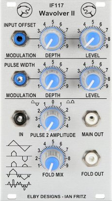 Eurorack Module IF117 Wavolver II (Photo) from Elby Designs