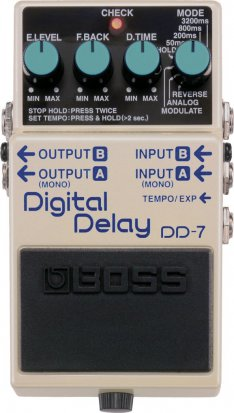 Pedals Module DD-7 from Boss