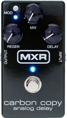 Pedals Module M169 Carbon Copy Analog Delay from MXR