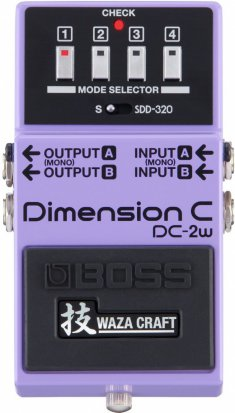 Pedals Module DC-2w Dimension C from Boss