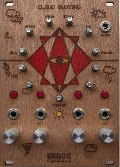 Eurorack Module NEW ! cloud busting  wood from Error Instruments