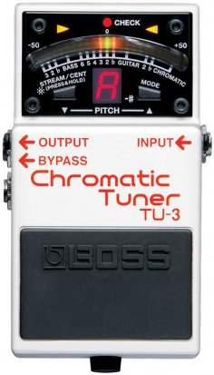 Pedals Module TU-3 from Boss
