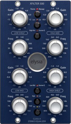 500 Series Module Xfilter 500 from Elysia