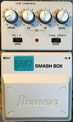 Pedals Module Smash Box from Ibanez