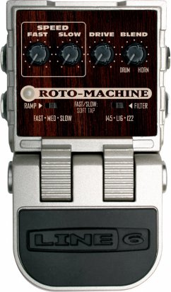 Pedals Module Roto-Machine from Line6