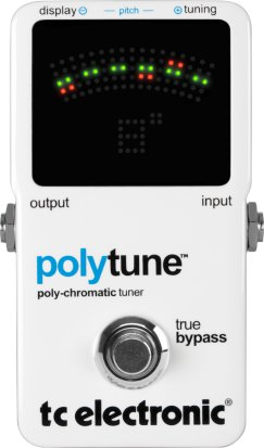 Pedals Module Polytune from TC Electronic