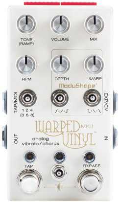 Pedals Module Warped Vinyl MkII from Chase Bliss Audio