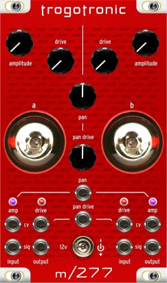 Eurorack Module m277 (updated version) from Trogotronic
