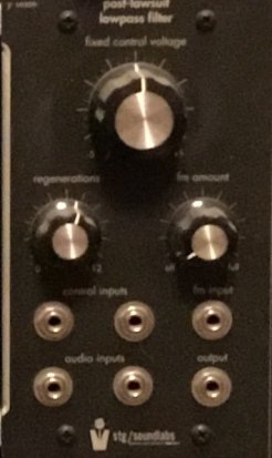Frac Module Post-Lawsuit Lowpass Filter  from STG Soundlabs