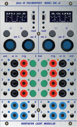 Buchla Module extended Dual CV Polymorpher - Model 2OC eX from Northern Light Modular