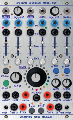 Buchla Module Spectral Resonator - Model 2SR from Northern Light Modular