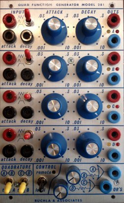 Buchla Module 281 from Buchla