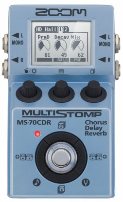 Pedals Module MS-70CDR MultiStomp from Zoom