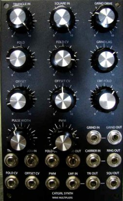 MOTM Module Wave Multiplier with Real Ring Modulator from Bridechamber