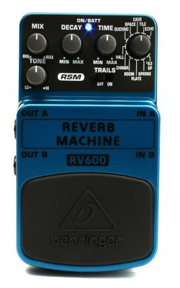 Pedals Module RV600 Reverb Machine from Behringer